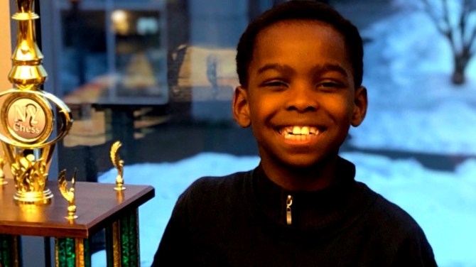 8-year-old homeless refugee wins chess championship, viral campaign gets family a home