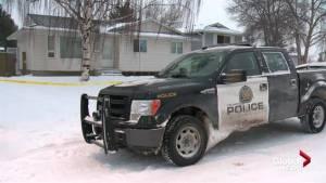 Calgary homicide unit investigating a suspicious death in the northeast (01:26)