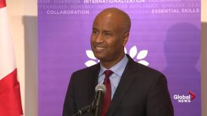 Minister Ahmed Hussen does not shed light on processing time for Rahaf Mohammed