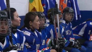 India women's national ice hockey team makes historic trip to Canada