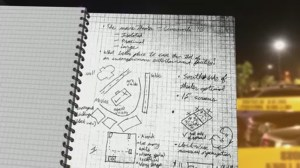 James Holmes' notebook reveals methodical plans for theatre shooting