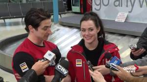 Tessa Virtue calls response from communities 'amazing'