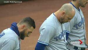 Toronto Blue Jays, Texas Rangers hold moment of silence to honour Humboldt Broncos