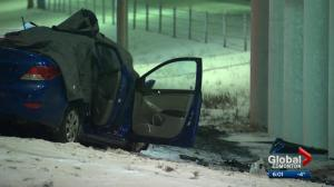 122 collisions reported in Edmonton as road conditions deteriorate