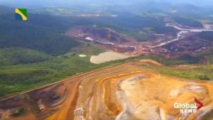 Bolsonaro sees first hand the devastation from Brazil dam burst