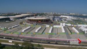 Rio de Janeiro still getting ready for Olympics with opening just days away