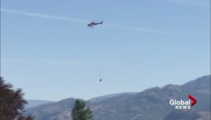 Helicopter near Kaleden fire