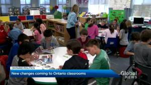 Ontario government announces new education overhaul