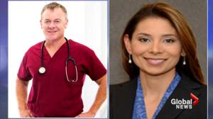 Suspect in murder of Boston doctors arraigned from hospital bed