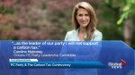 Caroline Mulroney flip flops on carbon tax, all PC leadership contenders now oppose it