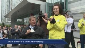 Man in Motion World Tour celebrates 31st anniversary