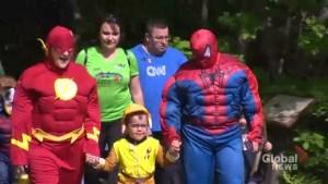 Autism sufferers get superhero treatment