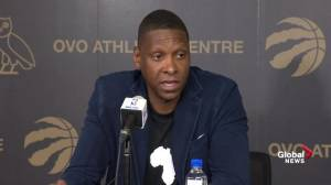 Ujiri says he will respect police process regarding Oracle Arena incident