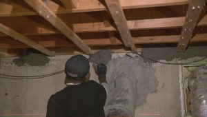 Regina's drought causes an increase in basement sinking
