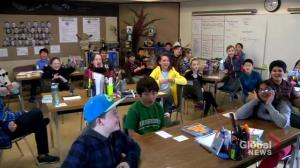 Global's newest SkyTrackers from Saskatoon's Wildwood School
