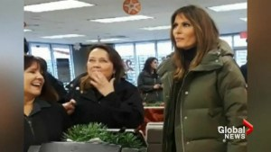 Melania Trump and Karen Pence get fast food fix at Texas Whataburger