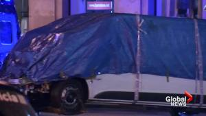 Van from deadly Barcelona attack removed from scene