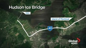 Will Hudson's ice bridge open on time?