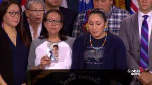 Family of Colten Boushie thankful for chance to raise issues of discrimination with Canada's leaders