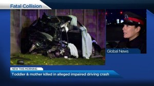 Woman, toddler killed after 2-vehicle crash in Mississauga: Peel Police