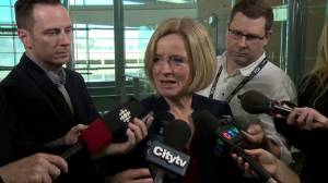 'We could talk about it the whole time': Notley on oil price problem