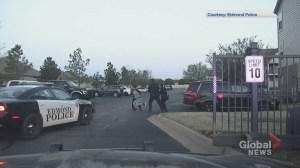 Dashcam captures arrest of Calgary Stampeder Roy Finch in Oklahoma