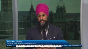 Jagmeet Singh says Justin Trudeau doesn't understand Canadians