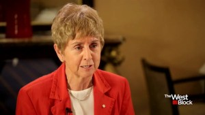 Food for Thought with former Olympian and former senator Nancy Greene Raine
