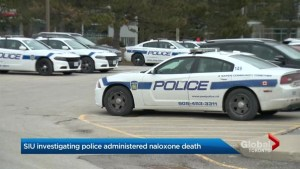 Peel police union calls out SIU over investigation into naloxone use