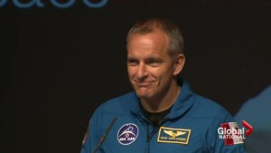 Canada's newest astronaut named