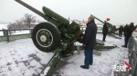 Vladimir Putin fires cannon to mark Russian Christmas