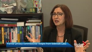 Ann Cavoukian resigns from Sidewalk Labs after meeting