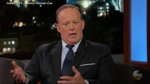 Sean Spicer tells Kimmel he had a special alert on his phone for every time Donald trump tweeted
