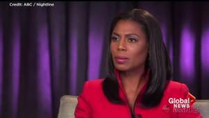 Omarosa says 'lack of diversity' in Trump administration left her feeling 'lonely' at times