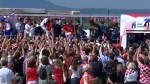 Croatia gets heroes' welcome on return from World Cup in Russia
