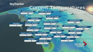 BC Evening Weather Forecast: Feb 18