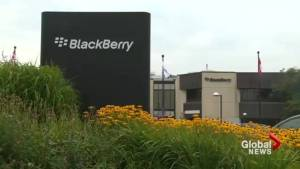 BlackBerry to stop internal hardware development (01:21)