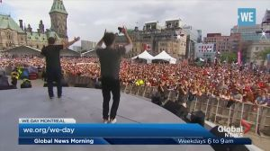 WE Day comes to Montreal