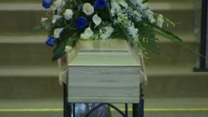 Funeral held for Quebec girl, 7, failed by system