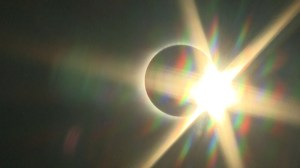 Total solar eclipse makes its way across the US