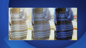 So what colour is the dress? No one can agree