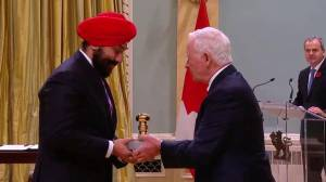 Navdeep Bains wants to be REALLY sure he's holding Seal of Canada