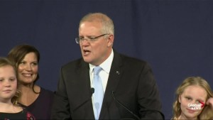 'I have always believed in miracles': Australian PM Scott Morrison celebrates election win