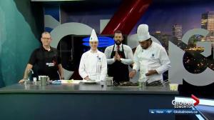 NAIT Culinary Arts Student Finishes Competition Dish