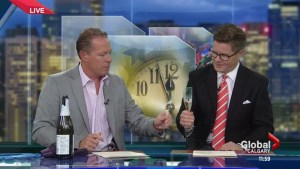 Global Calgary helps ring in the new year