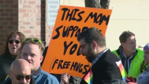 Calgary residents rally to keep current GSA legislation
