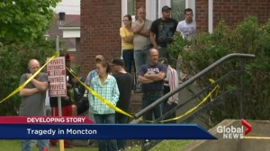 Tragedy in Moncton: Sorrow felt across Canada
