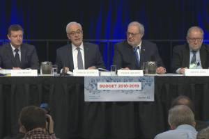 Quebec budget 2018: Carlos Leitao explains all the spending