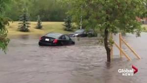 Flooding in Woodbine
