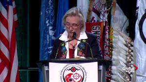 Perry Bellegarde, Carolyn Bennett offer remarks at First Nations general assembly